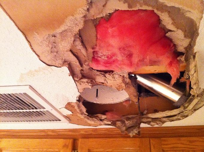 Broken Water ... & Water Damage Restoration MN | Frozen and Broken Water Pipes | Done ...